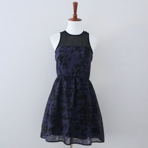 Urban Outfitters Pins & Needles Black & Blue Dress